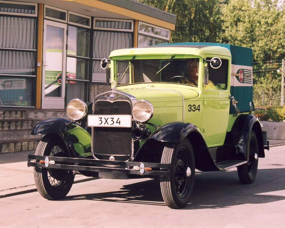 3x34 - når noget skal flyttes - gammel bil