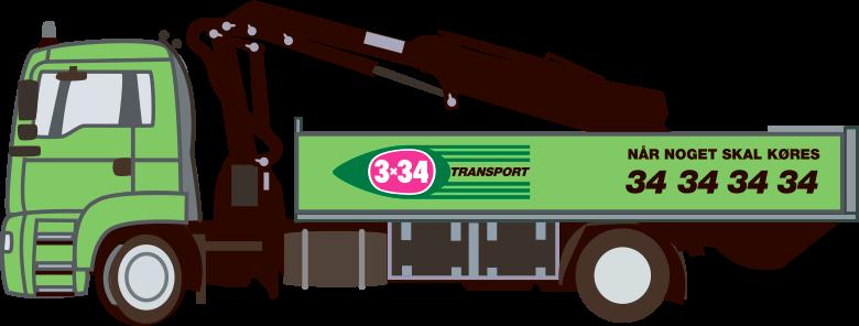 3x34 - når noget skal flyttes - biltype
