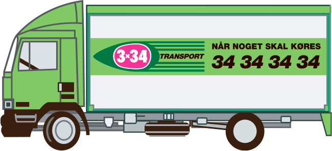 3x34 - lastbil til flytning